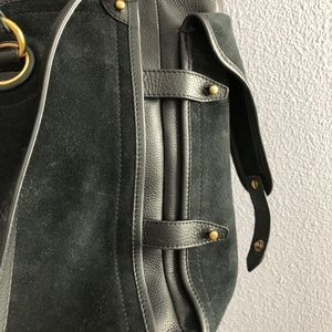 Jerome Dreyfuss Bags - Jerome Dreyfuss Pebbled Leather/Suede tote bag